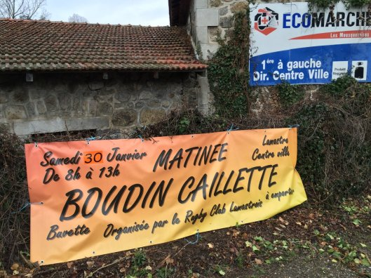 Boudin caillette