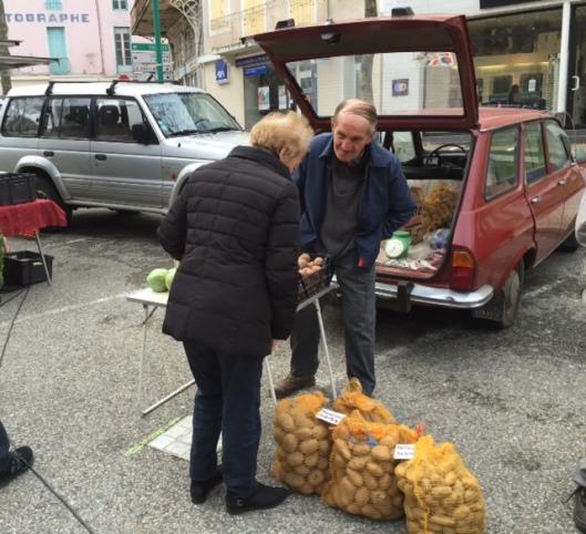 Zaterdagmarkt Lamastre