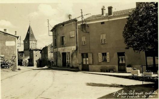 oude ansichtkaart van Saint Julien Labrousse