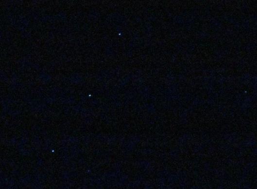 sterrenhemel boven Theron